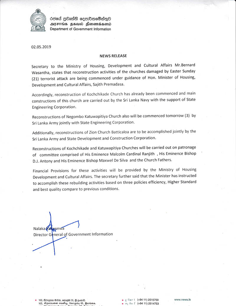 Media Release on 02.05