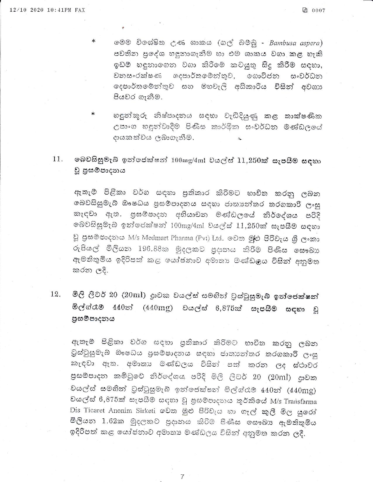 Cabinet Decision on 12.10.2020 page 007
