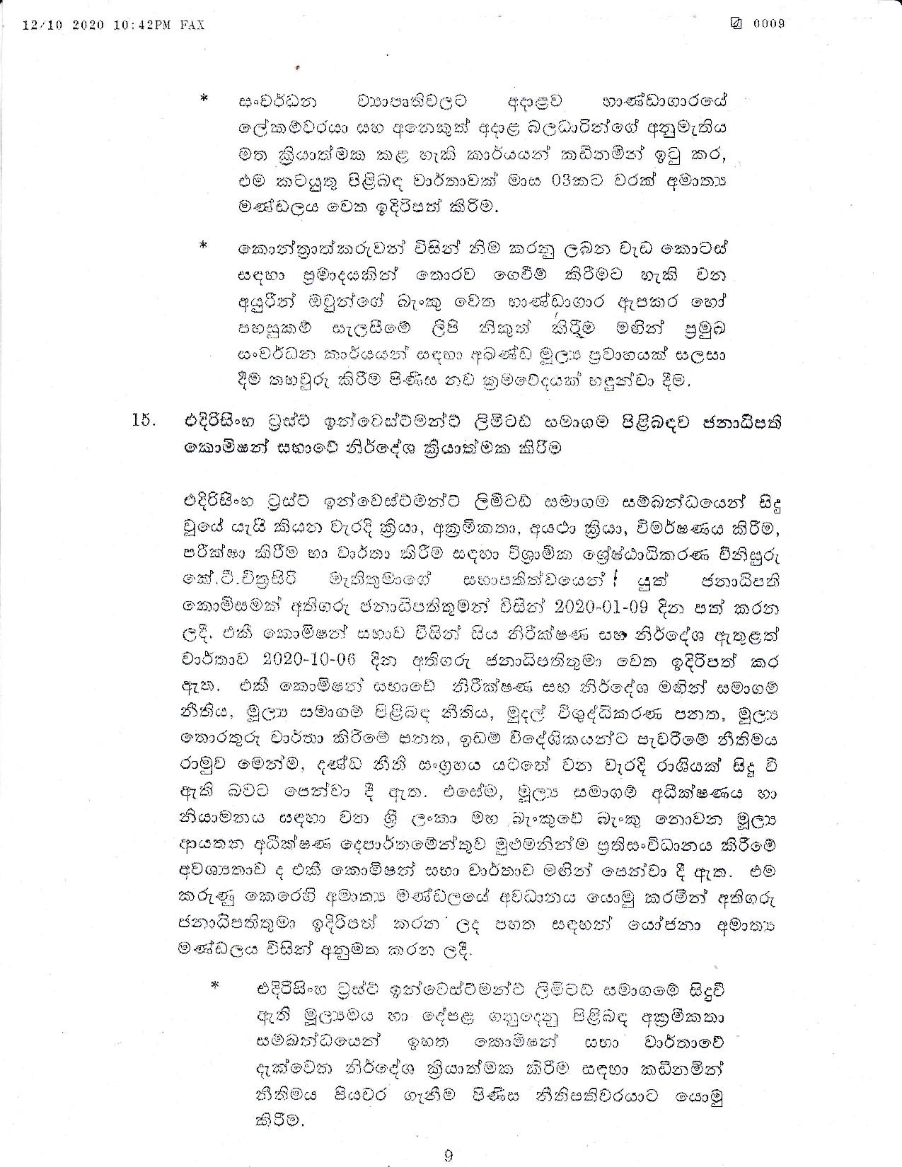 Cabinet Decision on 12.10.2020 page 009
