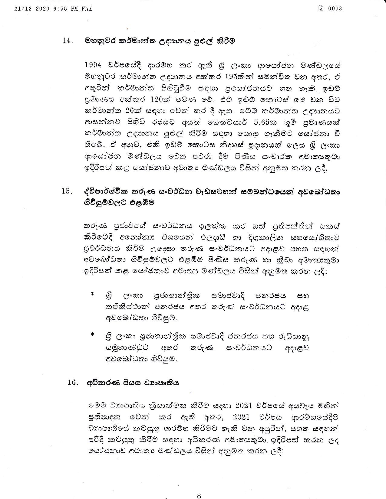 Cabinet Decision on 21.12.2020 page 008