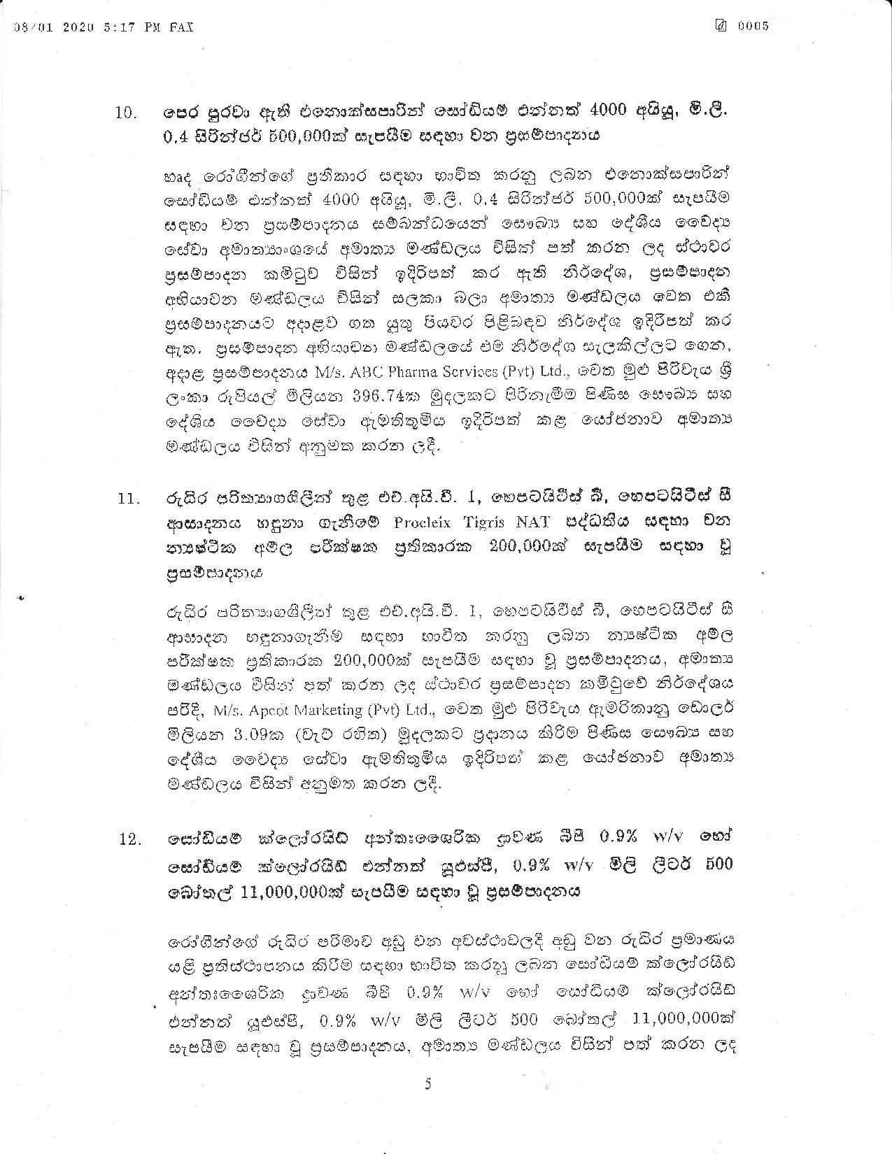 Cabinet Decision on 08.01.2020 page 005