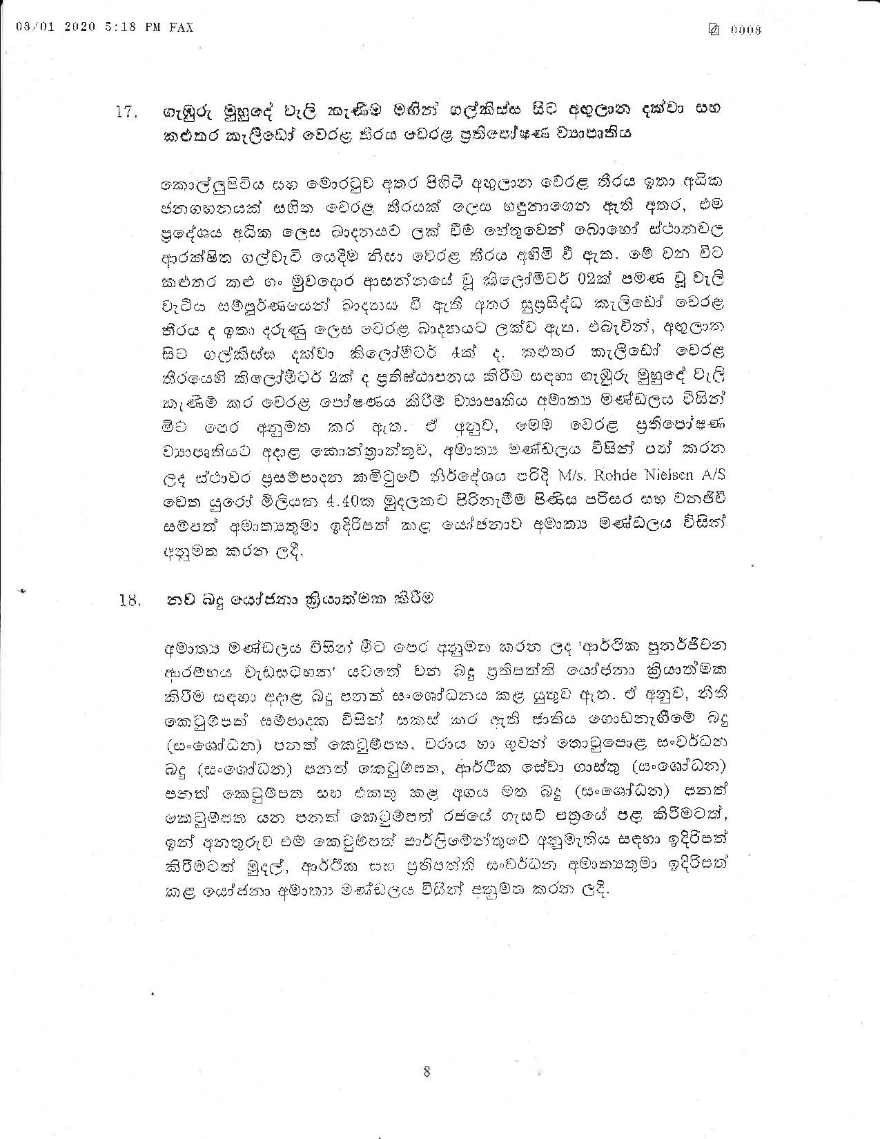 Cabinet Decision on 08.01.2020 page 008
