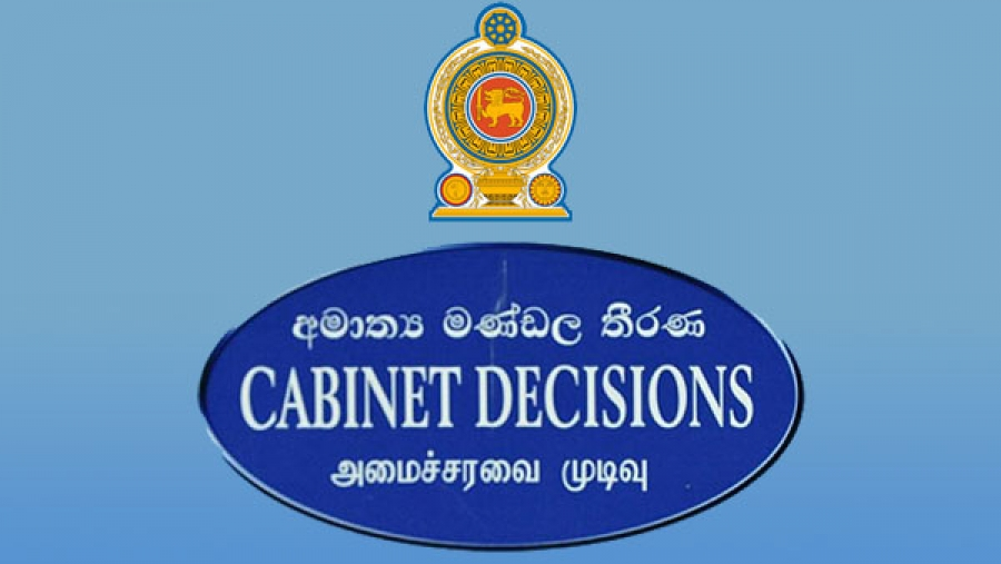cabinet decisions Sri Lanka