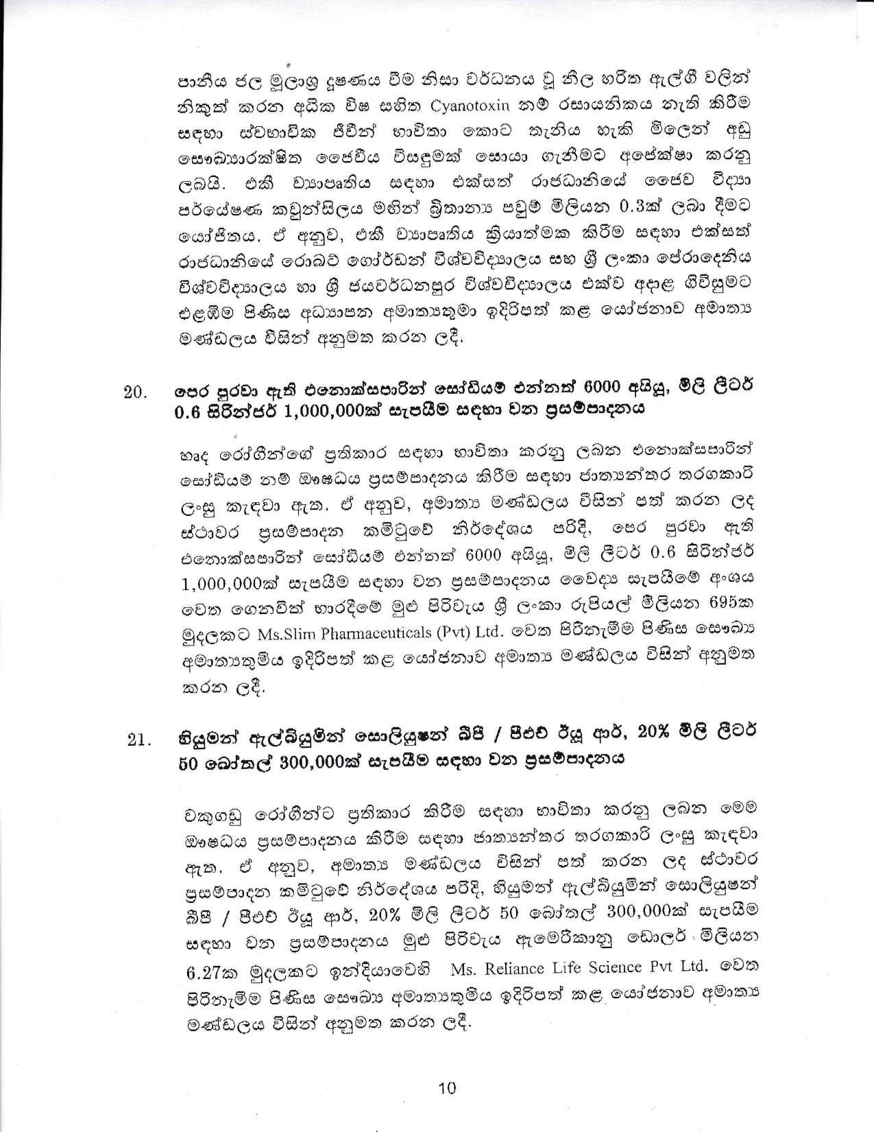 Cabinet Decision on 11.01.2021 page 010